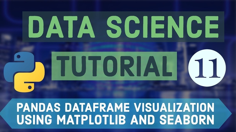 Data Science For Beginners with Python 11 Dataframe Visualization using Matplotlib and Seaborn