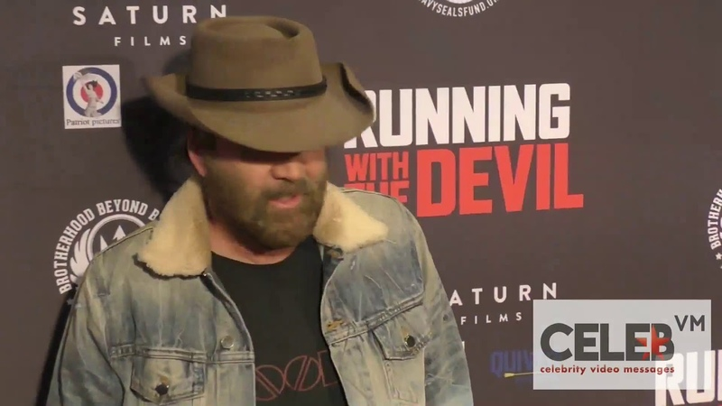 Nicolas Cage at the Running with the Devil Premiere at Writers Guild Theatre in Beverly Hills