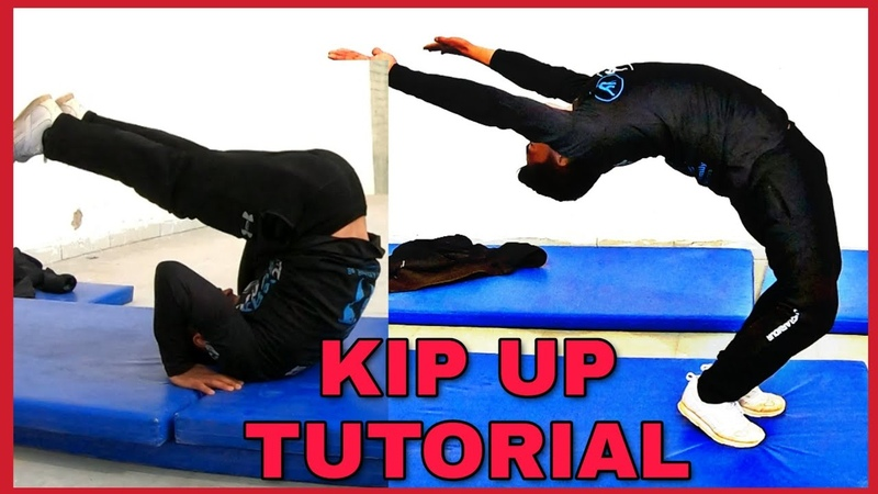 Kip up ground up stand tutorial on (Hindi)