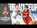 France v Spain - Full Game - FIBA U16 European Championship 2019