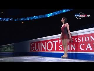 Елизавета Туктамышева. Чемпионат Европы 2015. Показательное выступление.