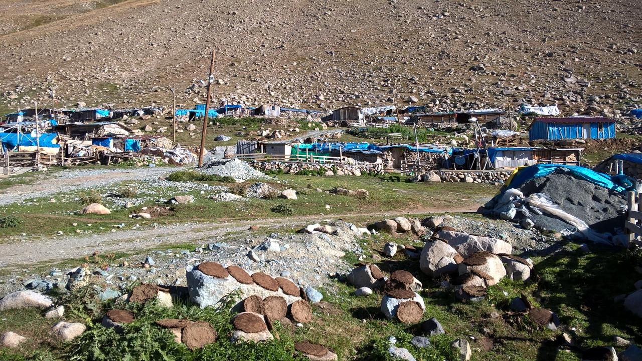 село только из пастухов в турецких горах Качкар