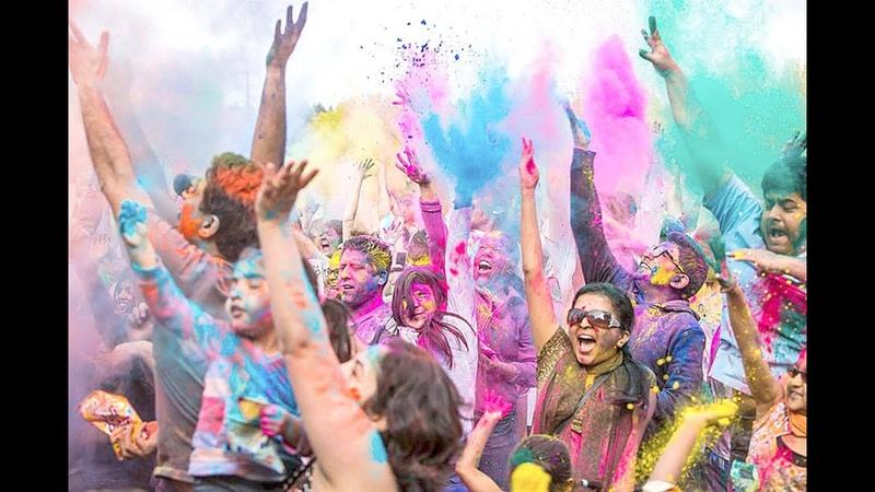 WARUM VERURTEILUNG von Frühlingsfest, Fest der Farben - Holi-Festival Color Festival Co