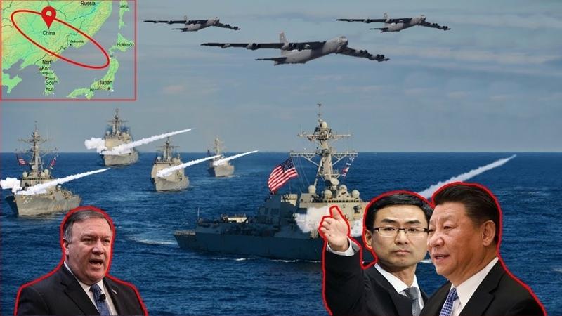 China Angry U.S. back Send 5 USS Wayne E. Meyer near waters SCS
