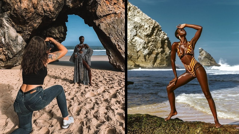 Direct Sunlight Glowy Photoshoot in Portugal- Behind the Scenes