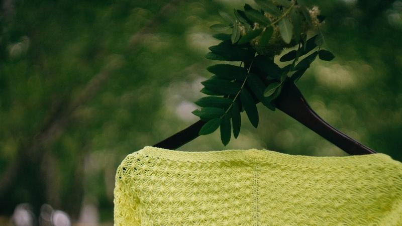 КАК НАБРАТЬ ПЕТЛИ СПИЦАМИ НА ШАЛЬ Ленточный наборный край для шалей Спицы для начинающих