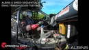 SpeedFactory Racing Testing The World's First 6 Spd Sequential B Series Drag Transmission Albins