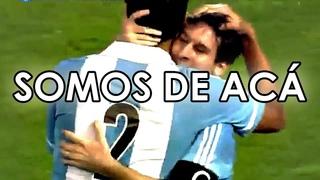 LA CANCIN ARGENTINA - Somos de ac - YEIMS BONDI. Messi, Maradona, Francisco, Cerati, el Indio
