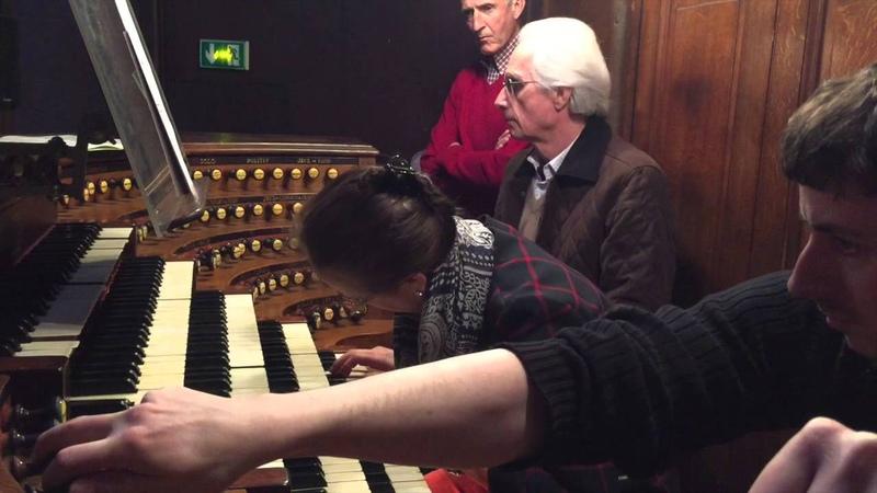 Improvisation avant la Messe a St Sulpice Sophie Veronique Cauchefer Choplin