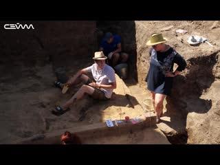 Под Курчатовом археологи ведут раскопки стоянки возрастом 17 тысяч лет