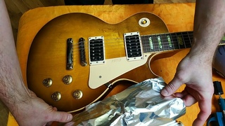 Экранировка гитары. Фронтальный экран - как это работает.