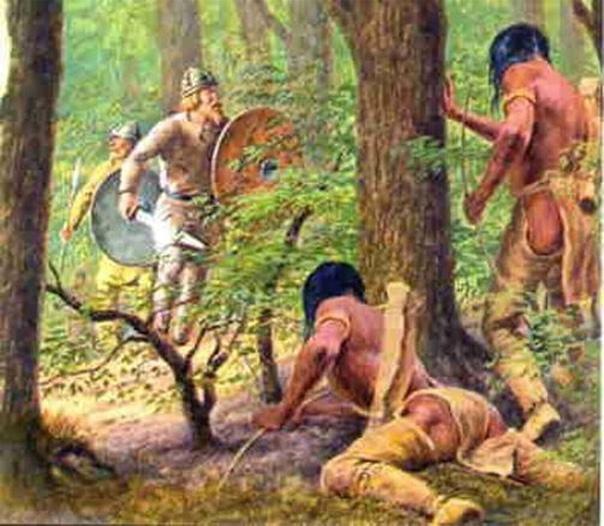 Викинги против индейцев. Сага об Эйрике Рыжем
