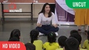 UNCUT Tamannah Bhatia Celebrating Children's Day With Hearing And Visually impaired Children