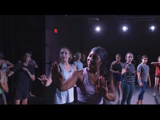 Saleemah e. knight || dance industry performing arts center || contemporary jazz master class