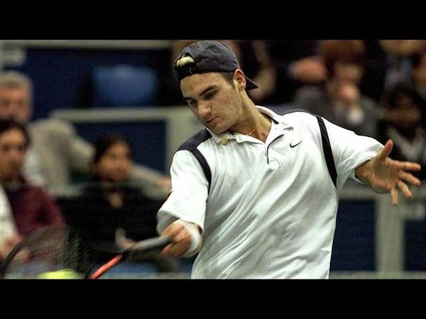 Rotterdam 1999 QF Yevgeny Kafelnikov Roger Federer Highlights