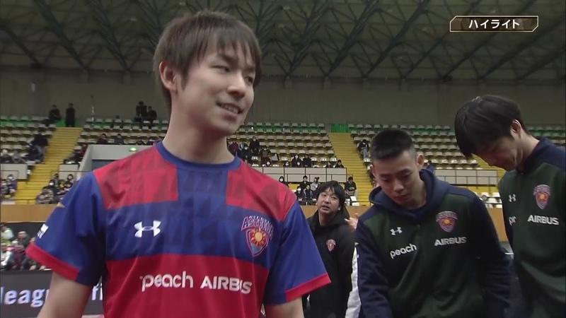 卓球 ノジマTリーグ 2月2日 岡山リベッツ vs 琉球アスティーダ