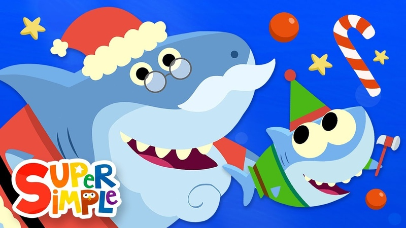 Santa Shark | Baby Shark Christmas Song featuring Finny The Shark