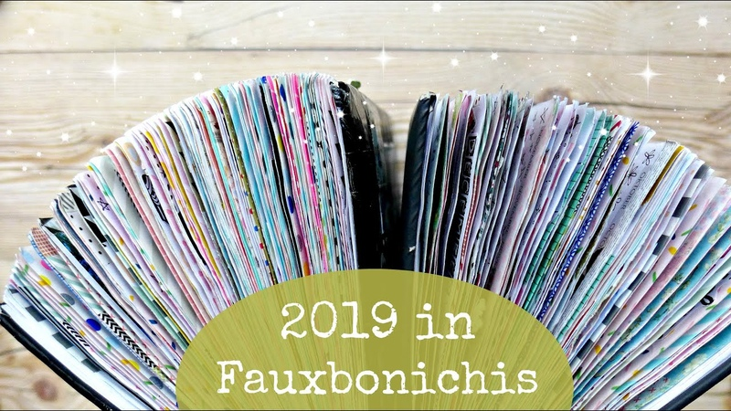 ✨1 Year of Fauxbonichis FLIP THROUGH TIME ✨Fauxbonichi 2019 Journal Chat 💬✨@LoveLynnsLife