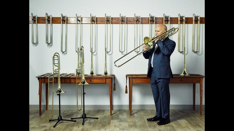 Joseph Alessi plays S E Shires trombones