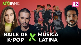 ¿Qué pasaría si ídolos de K-pop bailaran música latina? (ft.J Balvin ,Camilo,Anitta) l MIXSYNC Dance with DRIPPIN |210411|