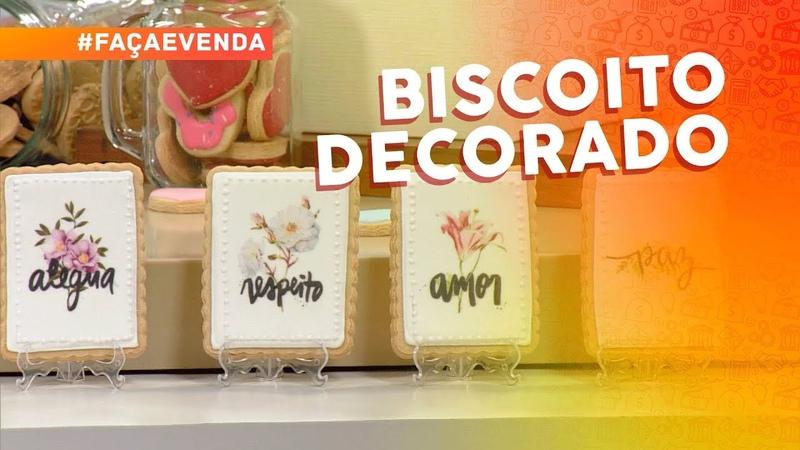 Biscoitos decorados por Kelma Gual