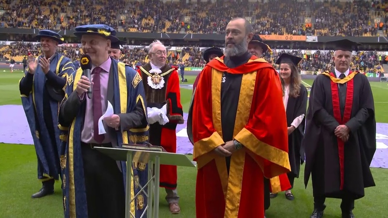 Dr Nuno Espirito Santo Honorary Degree Ceremony and Speech