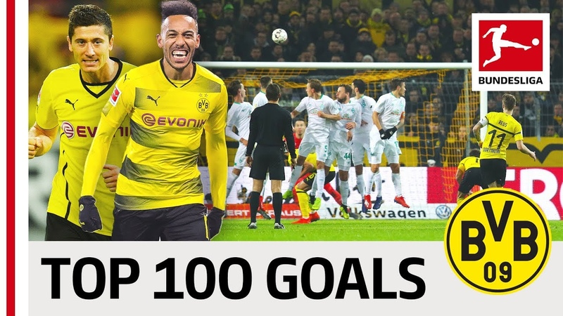Top 100 Best Goals Borussia Dortmund - Vote for Reus, Aubameyang, Sancho Co.