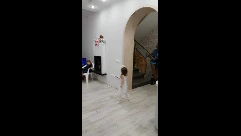 День Рождения весёлой озорной доброй девочки Марии 3 годика