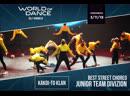 Kakoi-to Klan | Junior Team Divizion | World of Dance Russia Qualifier 2019