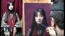 Oil Painting Portrait Demonstration by Leng Jun Artist