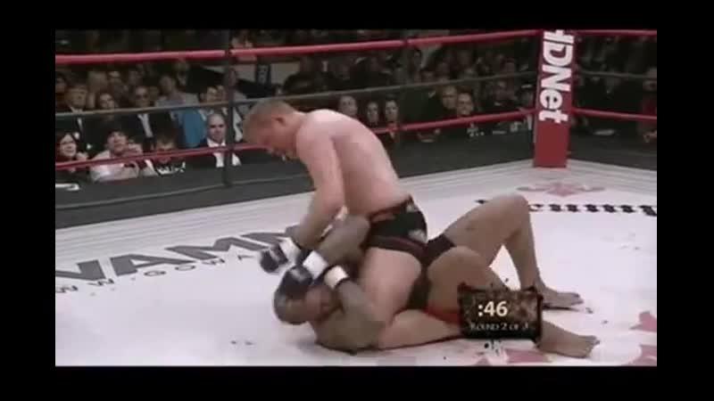 MMA Josh Barnett vs Gilbert Yvel Affliction Day of Reckoning Джош Барнетт против Гилберта Айвела 11DeadFace