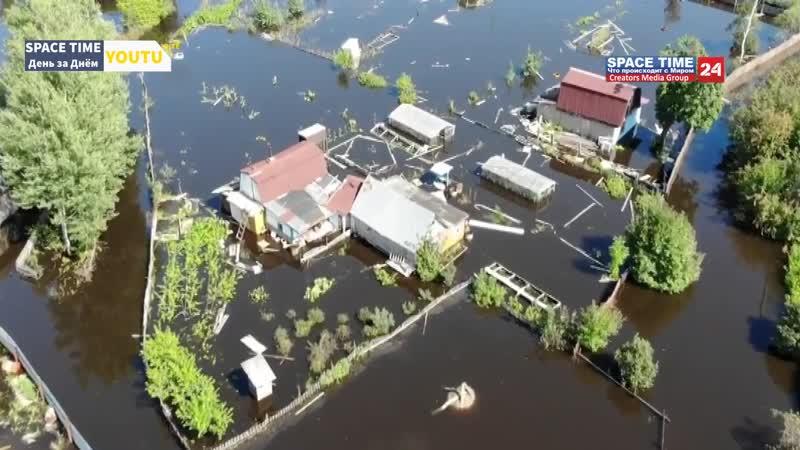 05.09.2019 - Наводнение в России,в Хабаровском крае - Flooding in Russia, in the Khabarovsk Territory