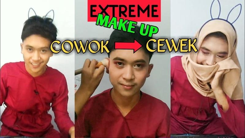MAKE UP EXTREME DARI COWOK KE CEWEK BEHIND THE SCENE OME TV JADI CEWEK 2