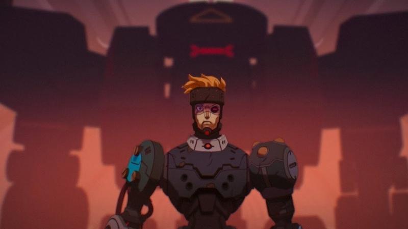Love Death Robots Blindspot ЛЮБОВЬ СМЕРТЬ И РОБОТЫ Слепое пятно