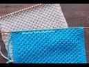 ЛЕГКИЙ и ЭФФЕКТНЫЙ узор Мелкие Соты Knit Bee Stitch