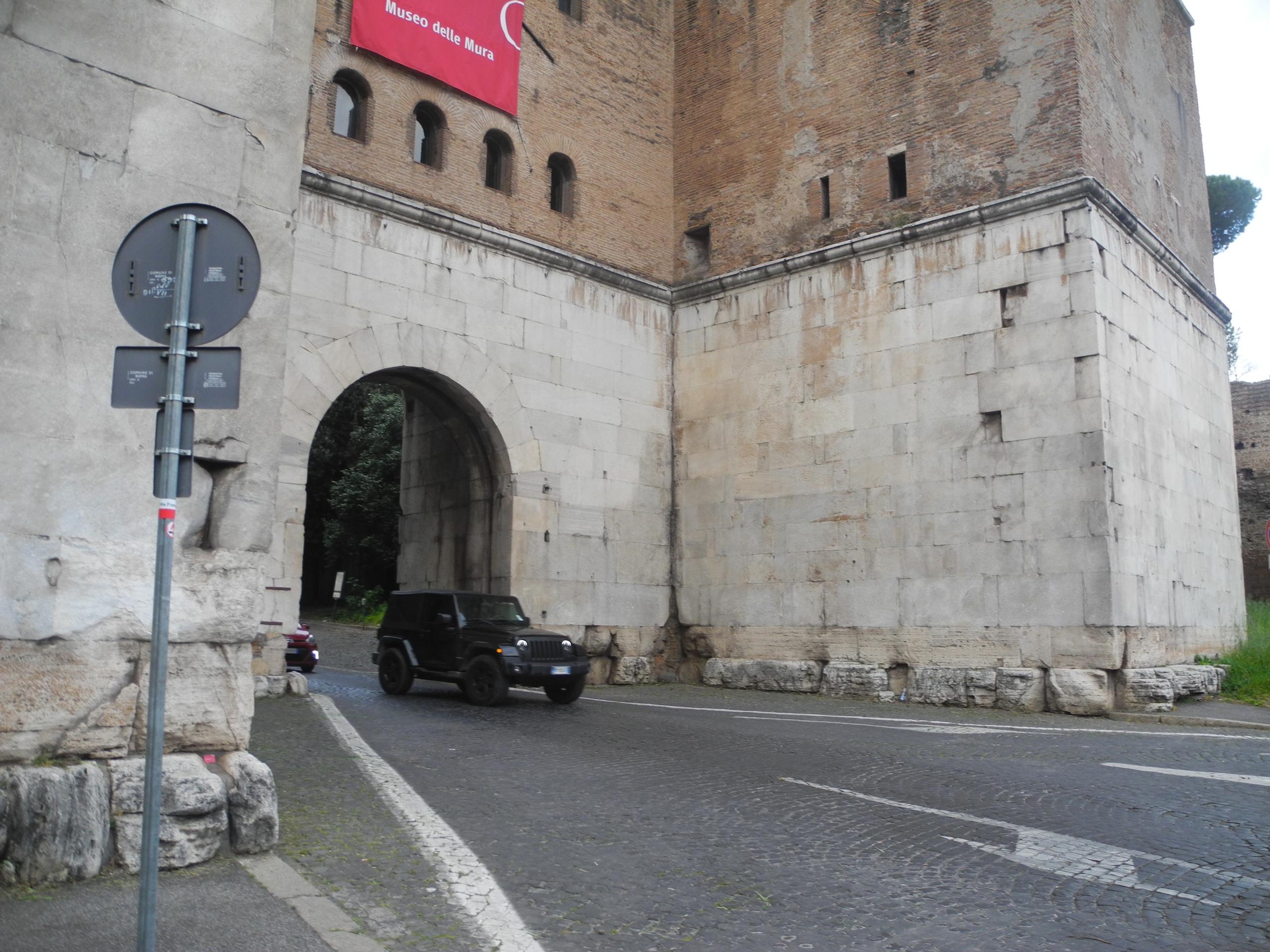 ворота святого себастьяна рим