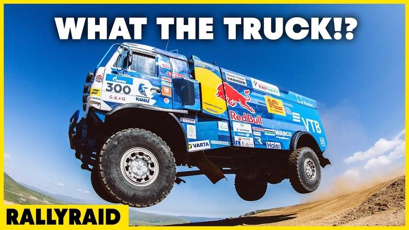 The KAMAZ master Truck Drives Through Anything Best of POV смотреть онлайн без регистрации