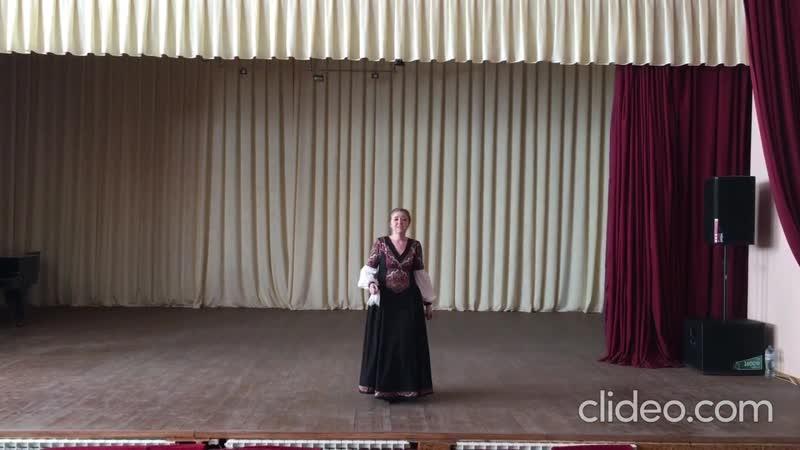 Медведева Валентина Плач сухопляс из репертуара Хора им М Е Пятницкого