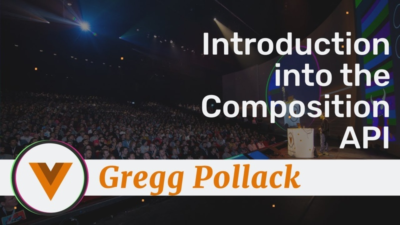 Gregg Pollack Introduction into the Composition API Amsterdam