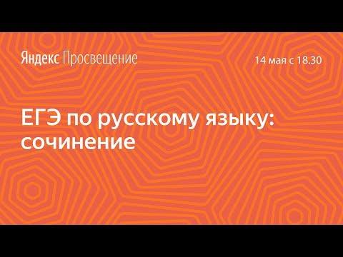 Подготовка к ЕГЭ по русскому языку. Сочинение. Занятие 21
