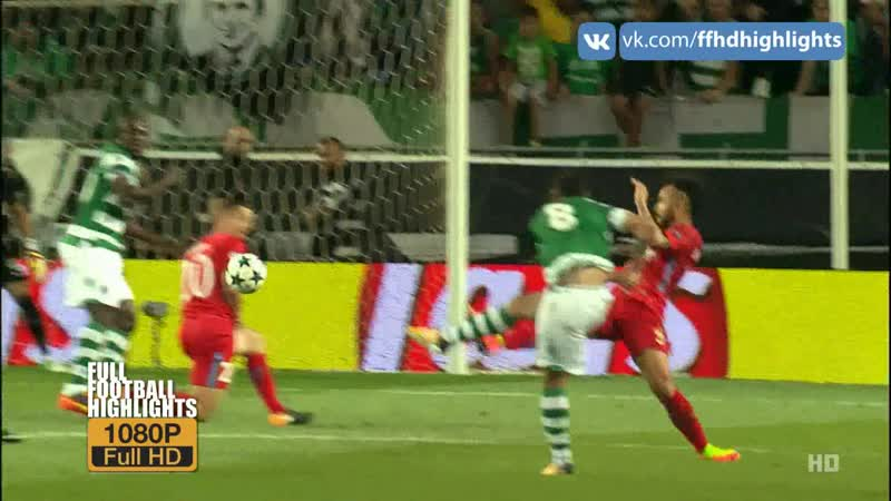 UCL 2017/18 - Play Off Round - Sporting CP - FCSB 1080 HD Highlights