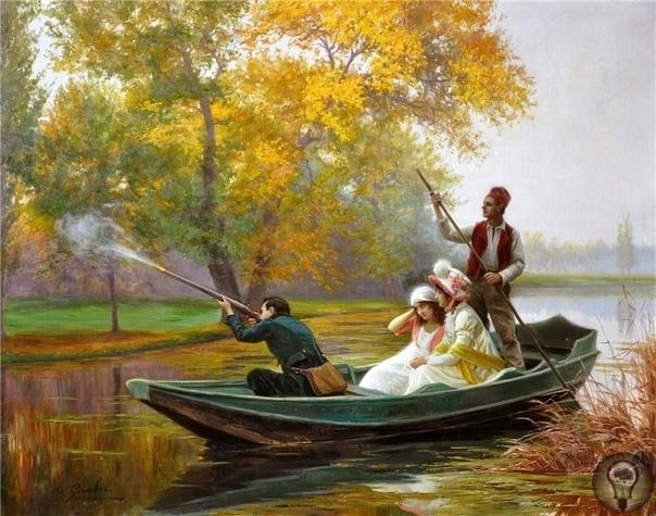 ФРАНЦУЗСКИЙ ХУДОЖНИК JULES GIRARDET, 1856-1938)