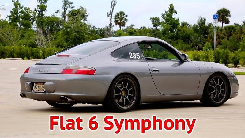 Porsche 911 Carrera Fister Muffler w Catless X-Pipe Sound