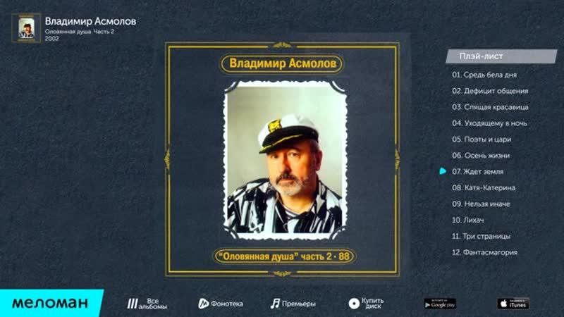 ВЛАДИМИР АСМОЛОВ - ОЛОВЯННАЯ ДУША 2