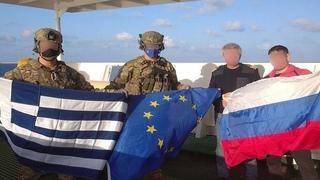 СРОЧНО!  Спецназ НАТО высадился на российский корабль в Средиземном море.