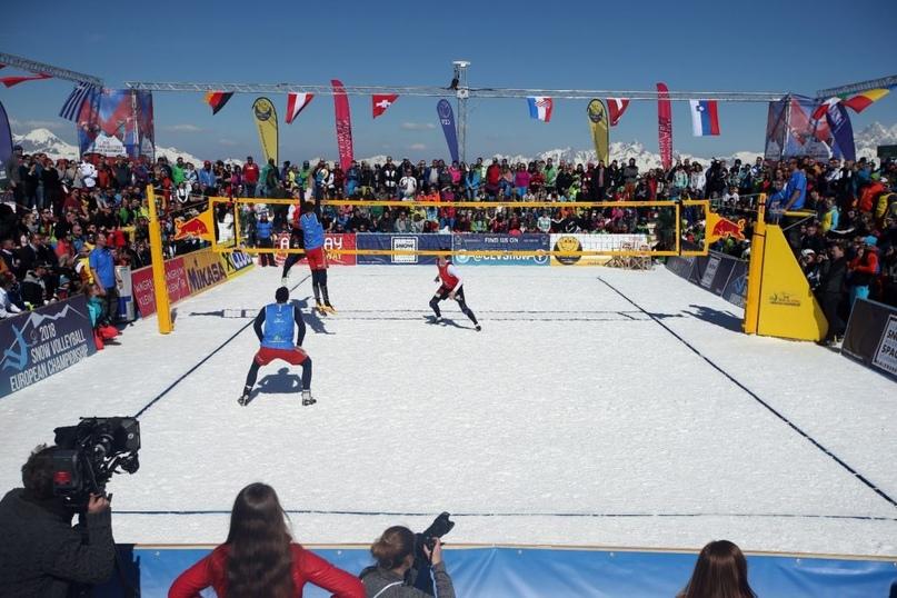 Снежный волейбол – главный тренд зимы, изображение №2