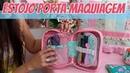 Estojo / Porta Maquiagem Multifuncional
