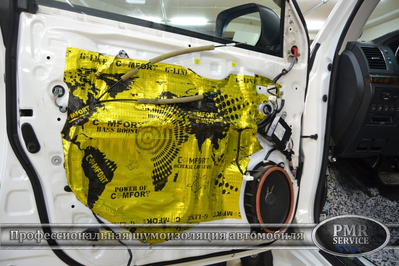 Комплексная шумоизоляция Toyota Land Cruiser 200, изображение №13