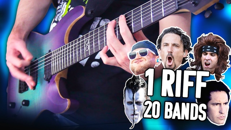 1 Riff 20 Bands - Mastodon! | Pete Cottrell
