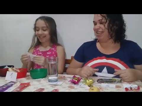 Sorteio de comidas Sara Machado